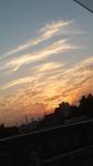 夕焼け秋の空
