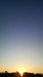 お散歩中の日の出